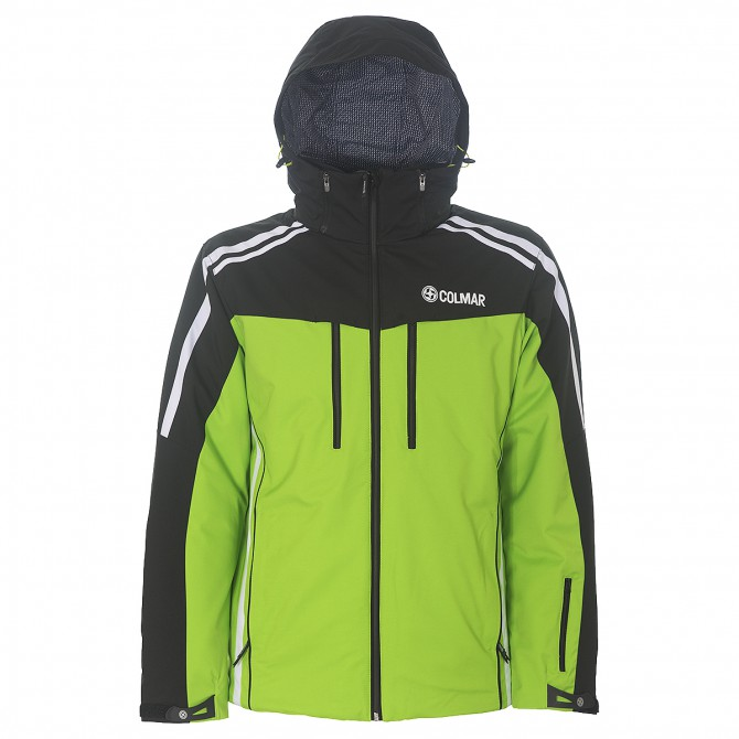 Giacca sci Colmar Crest 1103-2PS verde-nero-bianco Uomo