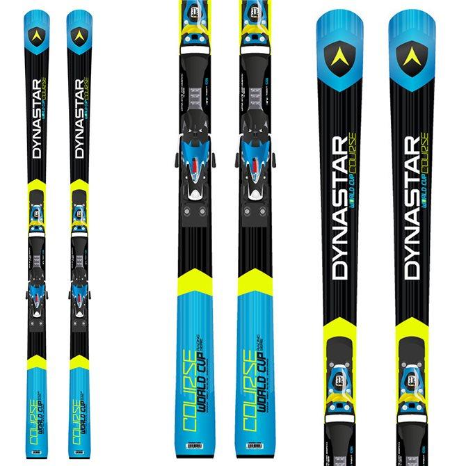 Ski Dynastar Course Wc R21 racing + Fixations Spx 15 Rockerflex