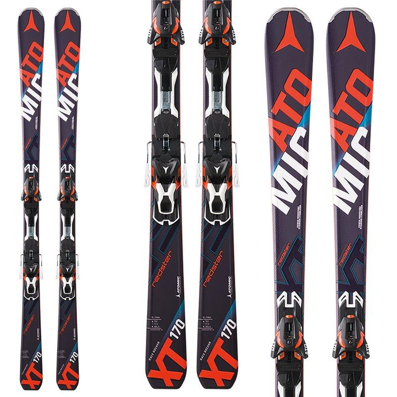 Ski atomic redster xt bindings race carve