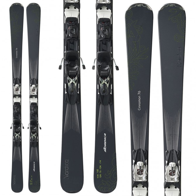 Ski Nordica Cinnamon 72 Ca Evo + bindings N Adv Pr Evo