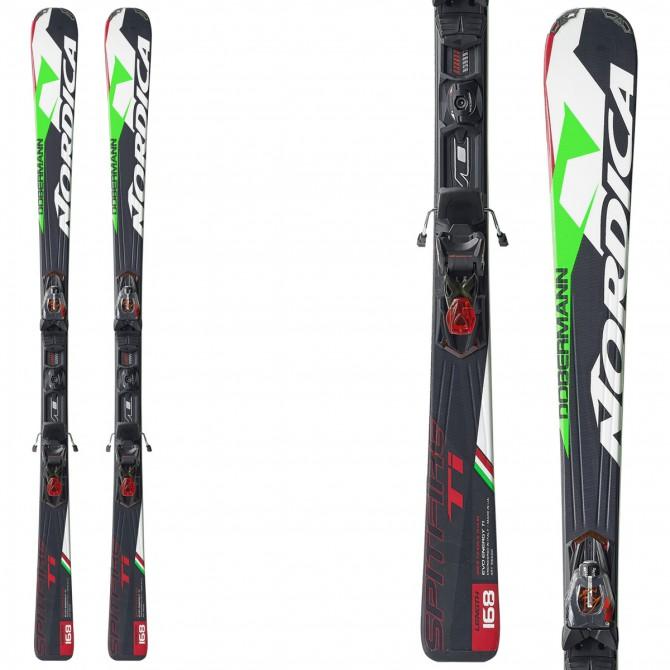 Ski Nordica Dobermann Spitfire Ti Evo + bindings N Pro Pr Evo