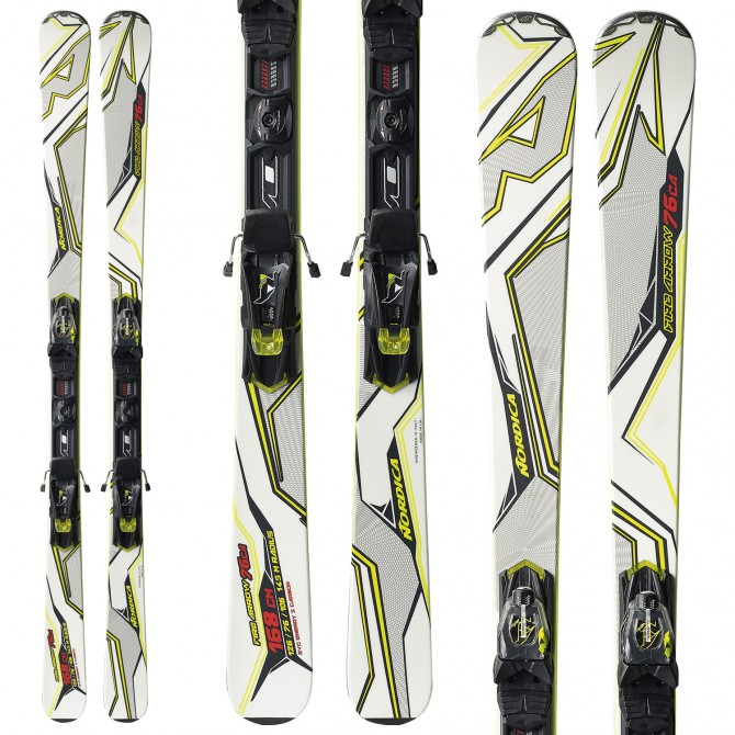 Ski Nordica Fire Arrow 76 Ca Evo + fixations N Adv Pr Evo