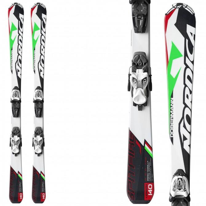 Ski Nordica Spitfire J Fastrak + fixations M 7.0 Fastrak II