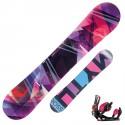 Snowboard Rossignol Myth Amptek + fijaciones Myth s/m