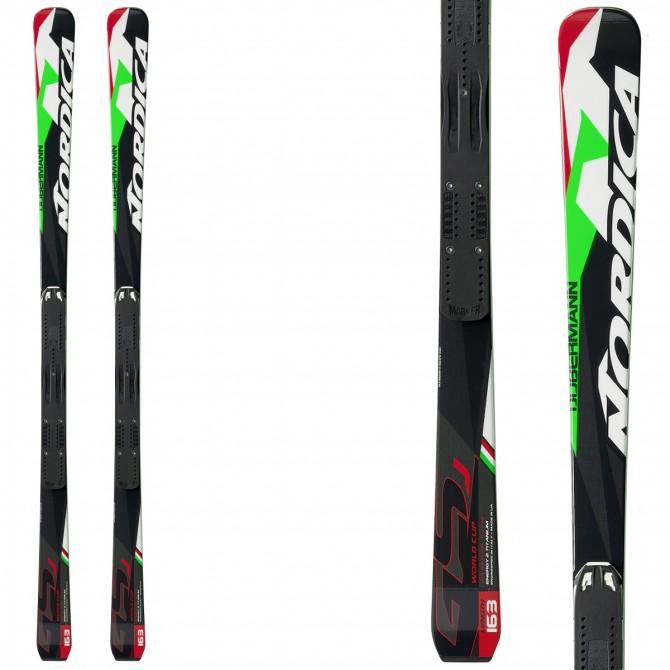 Ski Nordica Dobermann GsJ Plate + fixations Race 10