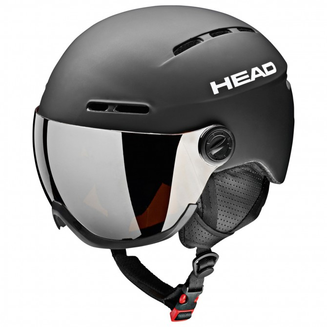 Casco sci Head Knight con visiera nero