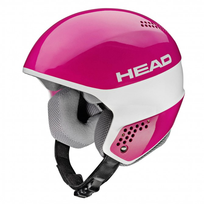 Casco esquí Head Stivot Race Carbon rosa