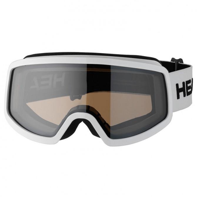 Masque ski Head Stream Race Youth blanc