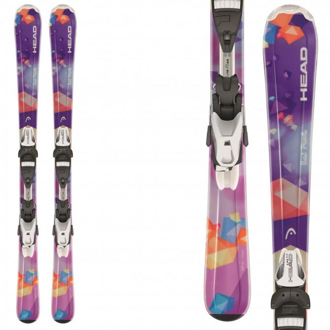 Ski Head Best Friends Lr + bindings Lrx 4.5 Br 74