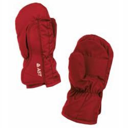 Mitaine de ski Astrolabio Enfant rouge-noir