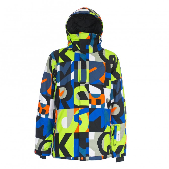 Veste snowboard Quiksilver Mission Printed Homme