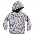 Felpa Quiksilver Allover Sherpa Backool Junior