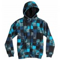 Sweat-shirt Quiksilver Allover Sherpa Checks Baby