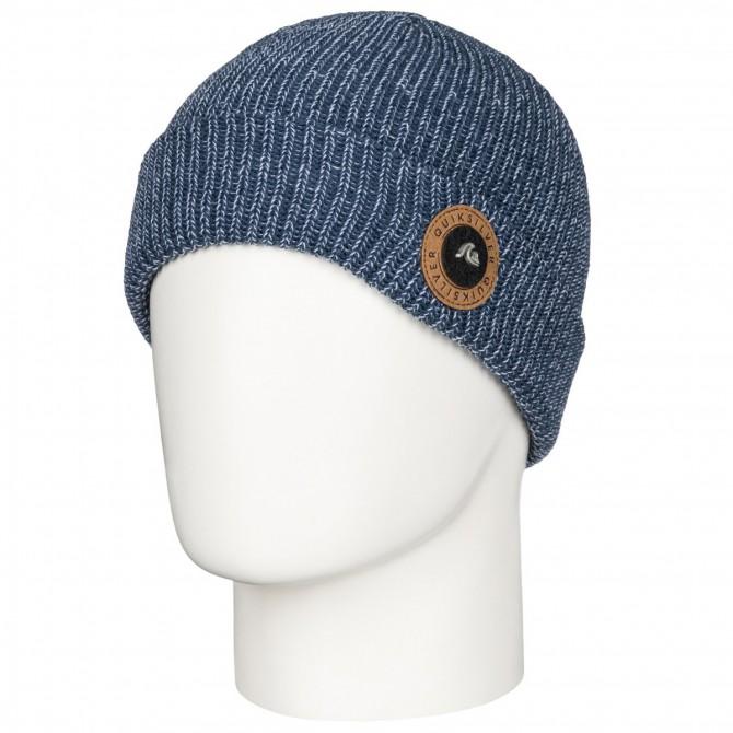 Cappello Quiksilver Crew blu melange