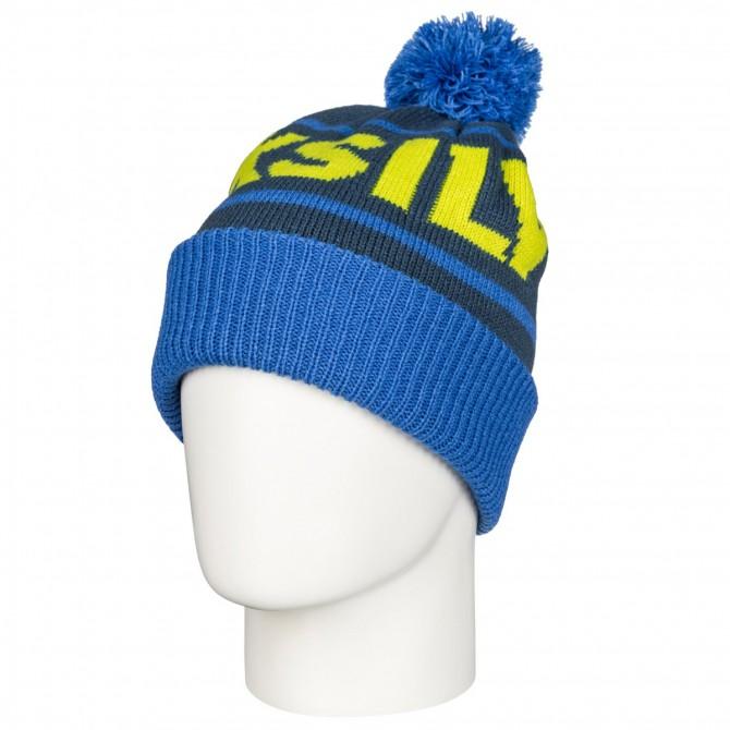 Cappello Quiksilver Summit blu-arancio-bianco