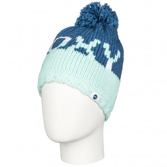 Cappello Roxy Fjord bianco-corallo-blu