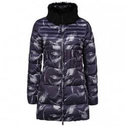 Long down jacket Emporio Armani Ea7 Woman