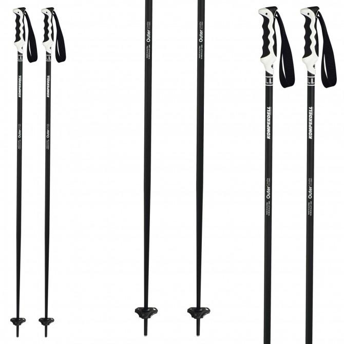 Ski poles Komperdell Outer Limit black