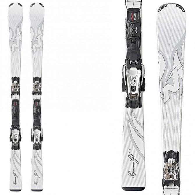 Ski Nordica Cinnamon 75 + fixations N Adv Pr Evo