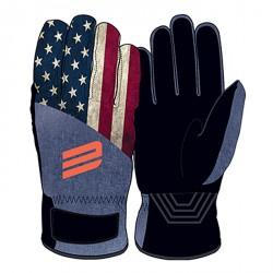 Guanti sci Energiapura Flag America-nero