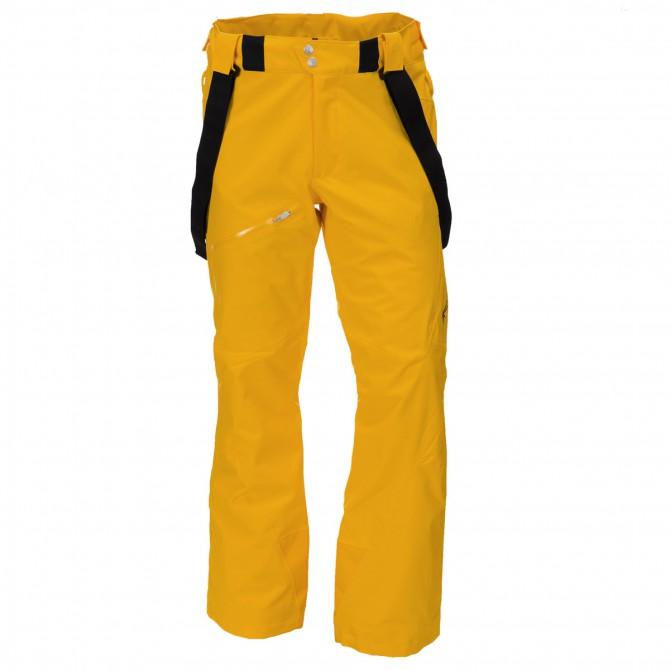 Pantalone sci Spyder Propulsion Uomo giallo fluo
