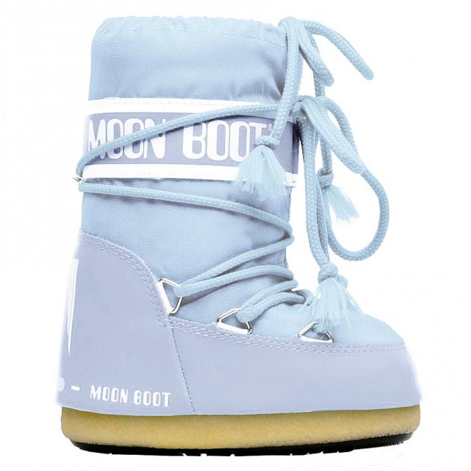 Après-ski Moon Boot Nylon Baby bleu