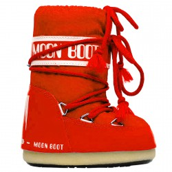 Après-ski Moon Boot Nylon Baby rojo