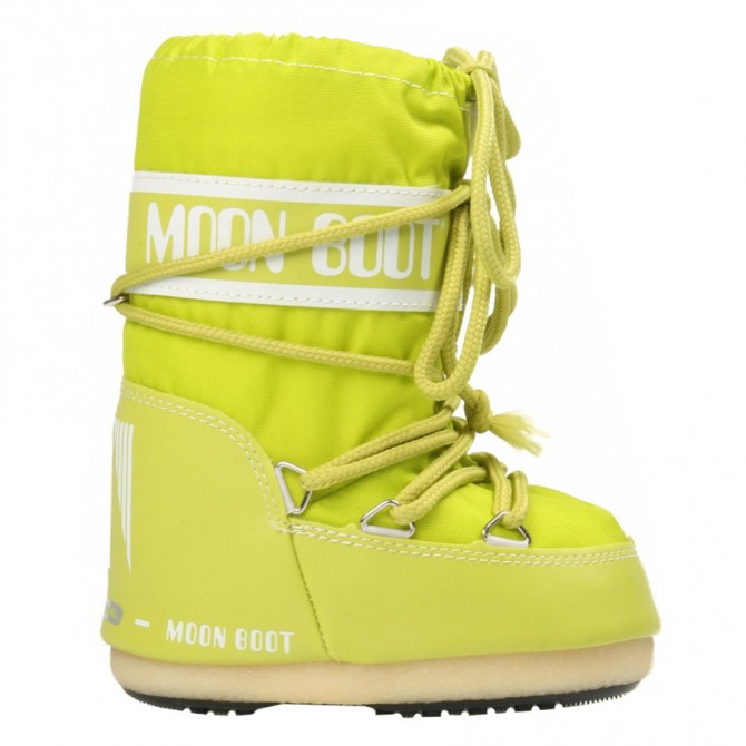 Doposci Moon Boot Nylon Baby lime