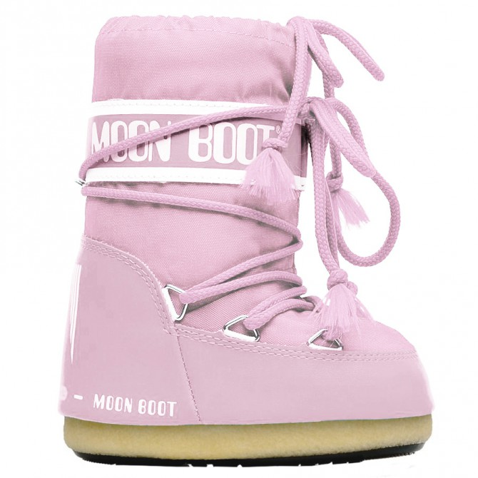 Doposci Moon Boot Nylon Baby rosa MOON BOOT Scarpe