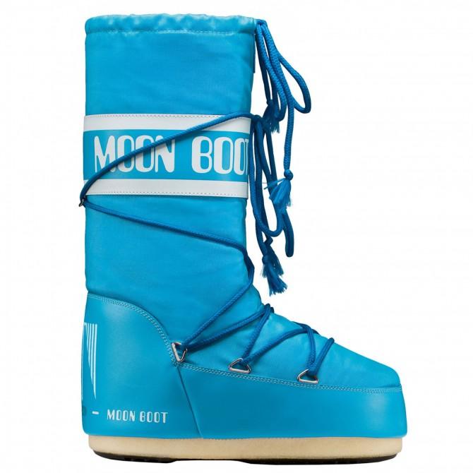 Après-ski Moon Boot Nylon Junior turquoise