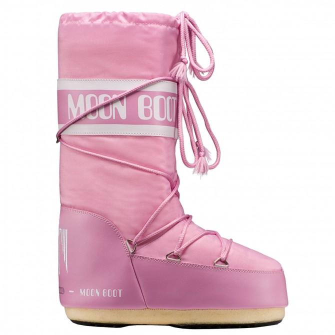 Après-ski Moon Boot Nylon Junior pink
