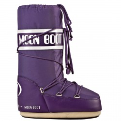 Après-ski Moon Boot Nylon Junior violet