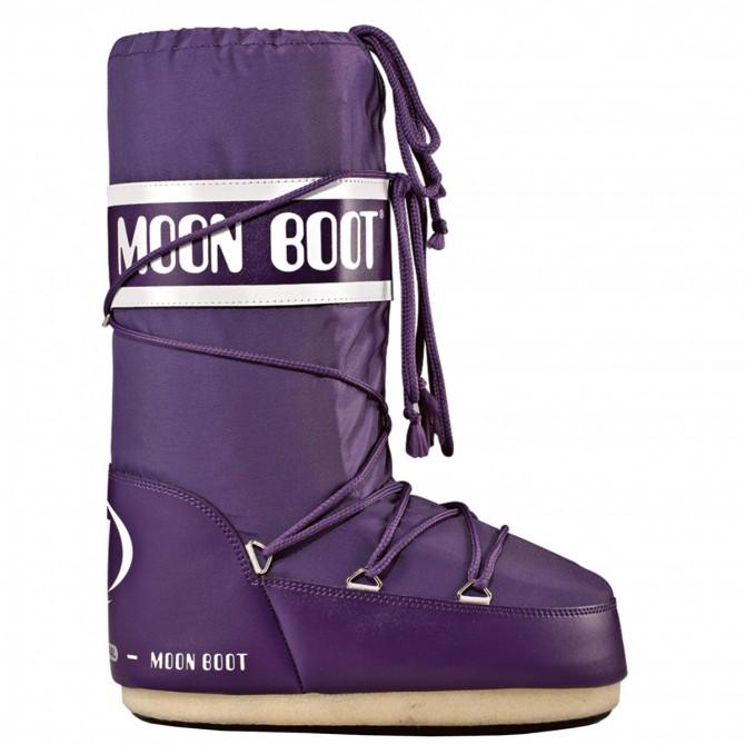 Après-ski Moon Boot Nylon Junior violet