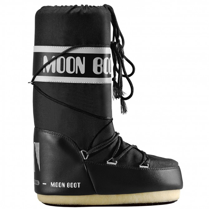 Après-ski Moon Boot Nylon Junior noir