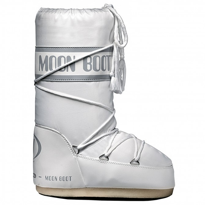 Doposci Moon Boot Nylon Junior bianco MOON BOOT Doposci bambino