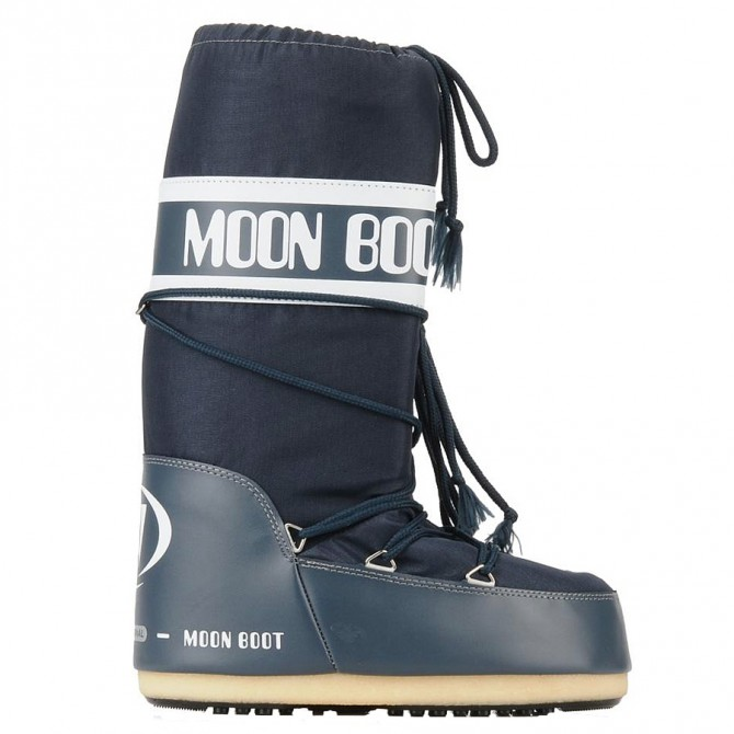 Après-ski Moon Boot Nylon Junior blu jeans