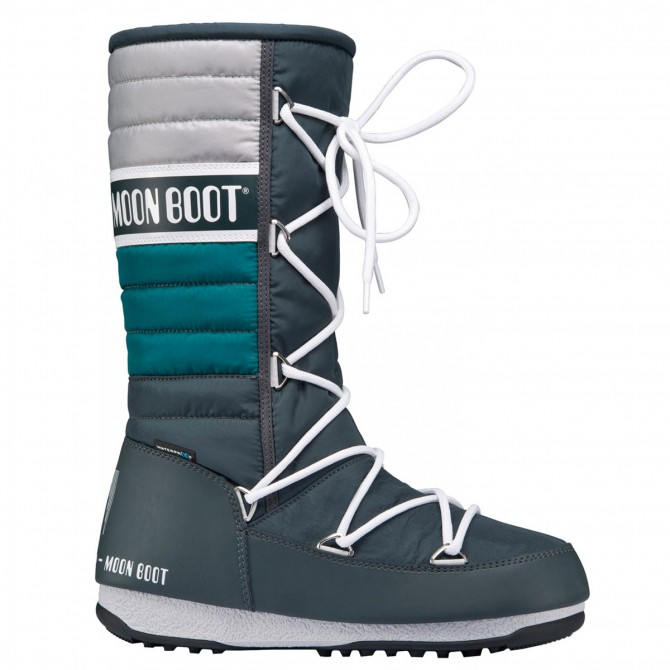 Après-ski Moon Boot W.E. Quilted Mujer teal