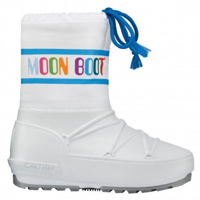 Après-ski Moon Boot Pod Junior blanc