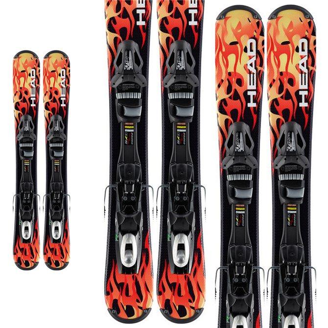 snowblade Head The Rod rosso-nero