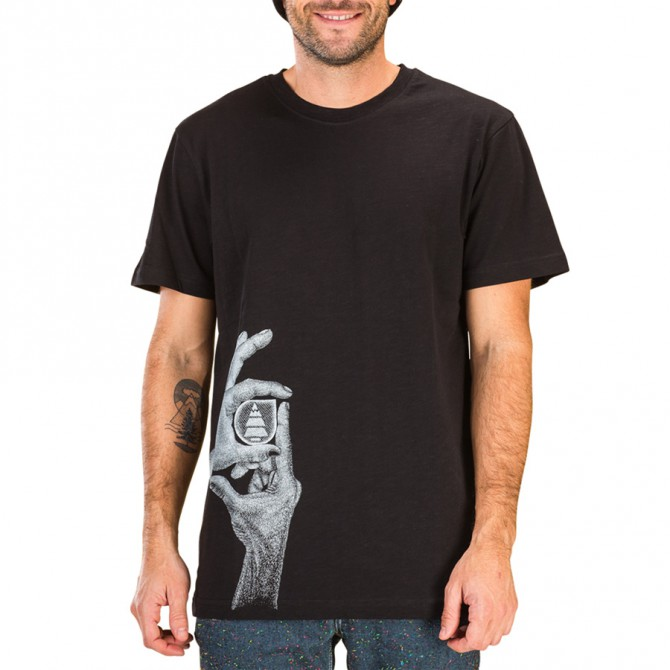 T-shirt Picture Handmade Homme