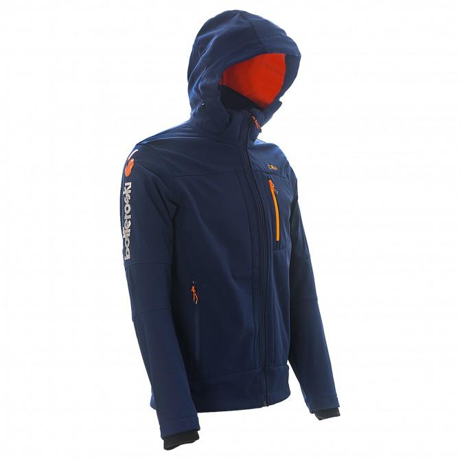 Softshell Bottero Ski Hombre azul