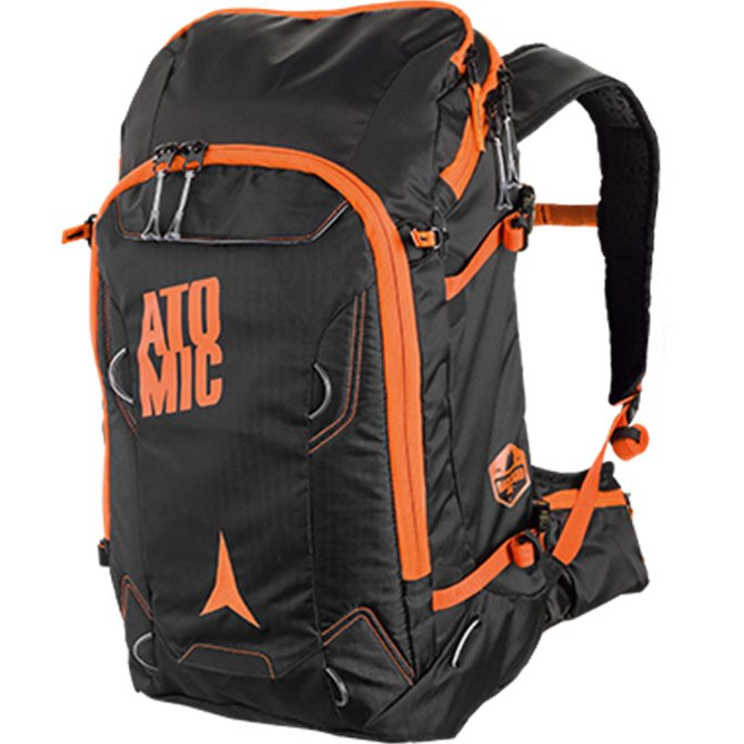 Zaino Atomic Backland pack 30 lt. nero-arancione