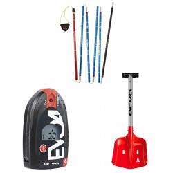 Kit Arva + shovel + probe