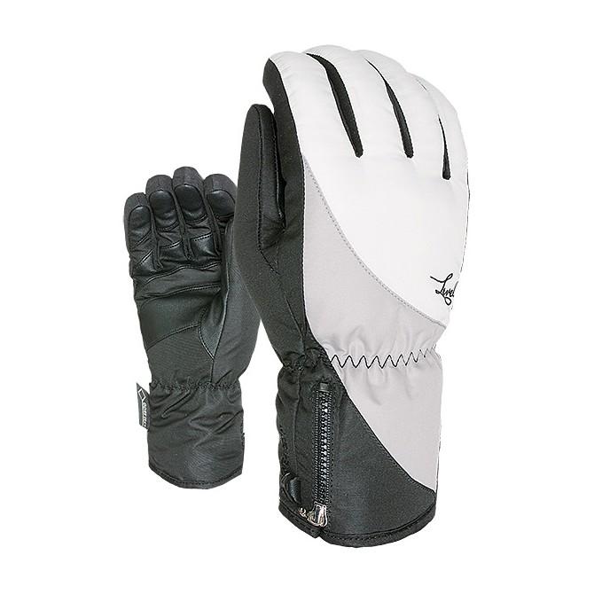 Guanti sci Level Mercury Gtx nero-bianco-grigio