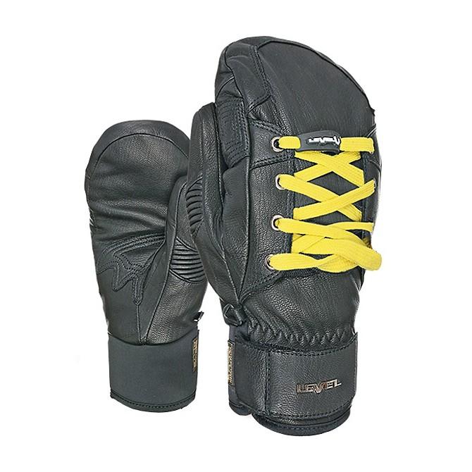 Moffola sci Level Rexford Sneaker Light Uomo nero-giallo