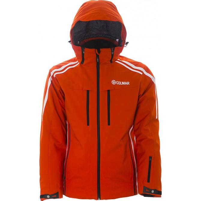 Giacca sci Colmar Crest 1103U-2PS arancio-bianco-nero Uomo