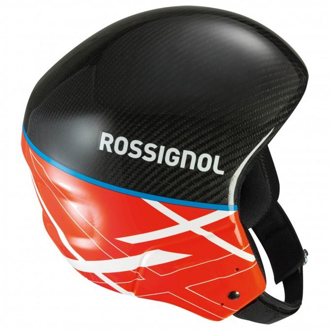 Casco sci Rossignol Hero Carbon Fiber Fis rosso-nero