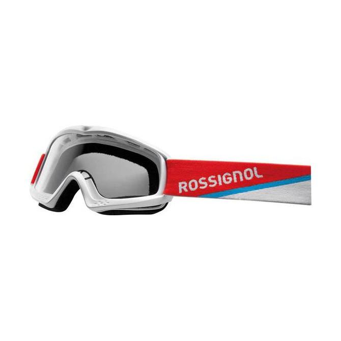 Maschera sci Rossignol Raffish Hero bianco + lente