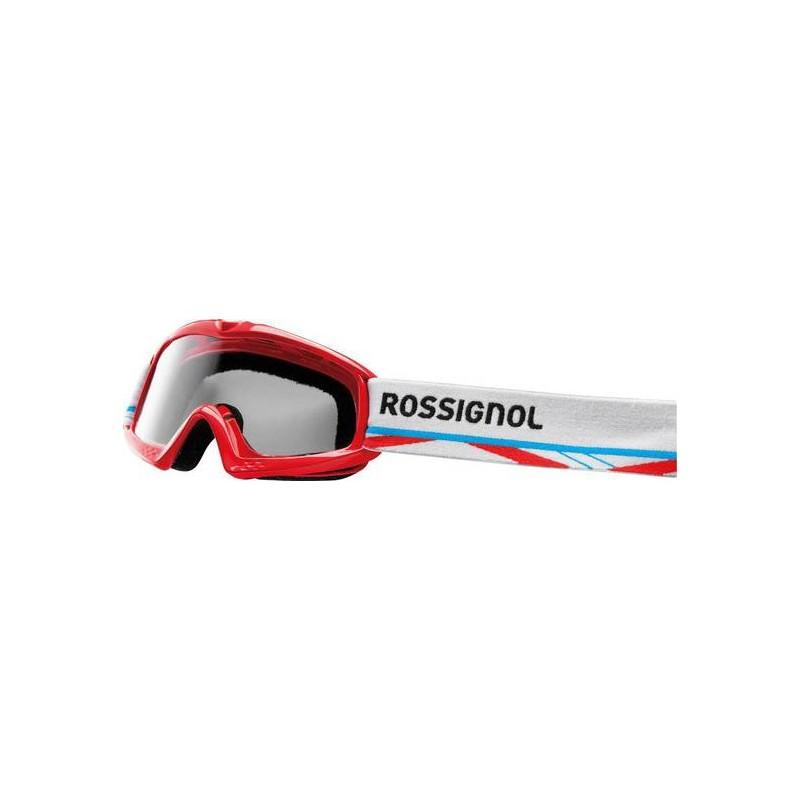 Maschera sci Rossignol Raffish Hero Blaze S rosso + lente