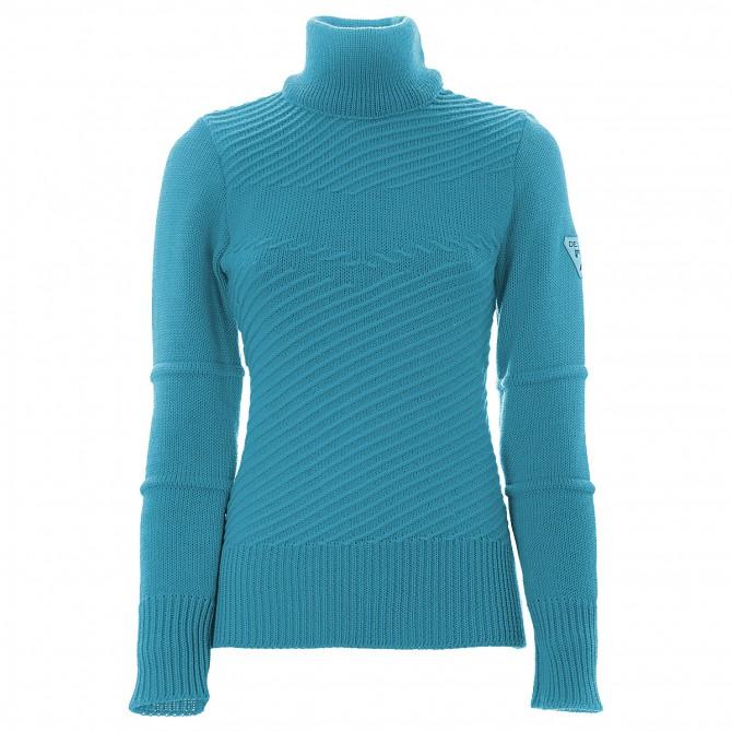 Suéter Degré 7 Pinapa Mujer verde esmeraldo